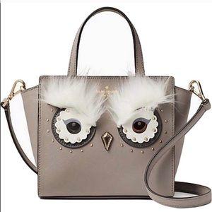 Kate Spade Star Bright Owl Mini Hadlee Crossbody